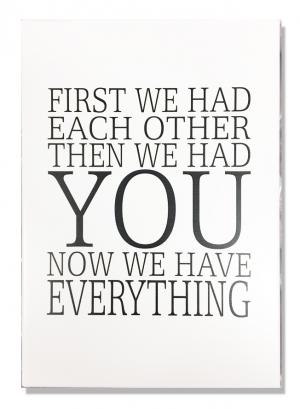 """Tavla """"First we had each other"""""""
